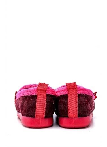 First Step Pembe Kürklü Babet Çocuk Ayakkabısı-F-431 Fuşya